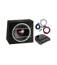 Pachet JBL CS1204B + Amplificator JBL GX-A602 + Kit cabluri