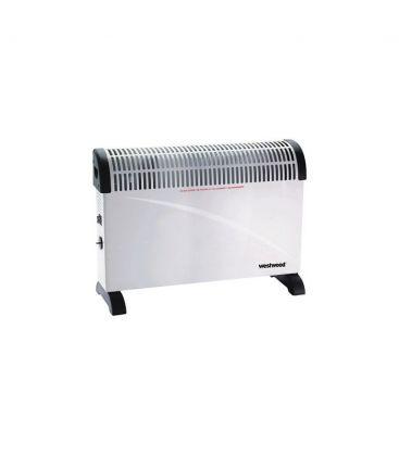 Convector electric WESTWOOD DL01, 3 Trepte de putere, 750W / 1250W / 2000W, Termostat
