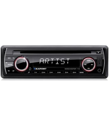 Radio CD auto BLAUPUNKT MANCHESTER 110, MP3, 4 x 50 W, USB, card SD/MMC