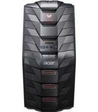 Sistem desktop ACER PREDATOR G3 DG.B1PEX.062, Intel Core i5-6400, 1TB HDD+128GB SSD, 16GB, nVidia GeForce GTX 1060, Negru