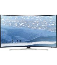 Televizor LED Curbat Smart SAMSUNG 49KU6172,123 cm,4K Ultra HD, Negru